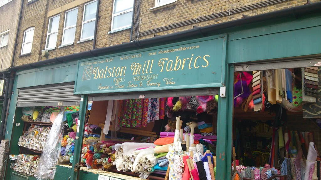08 Dalston Mills Fabrics, Ridley Road