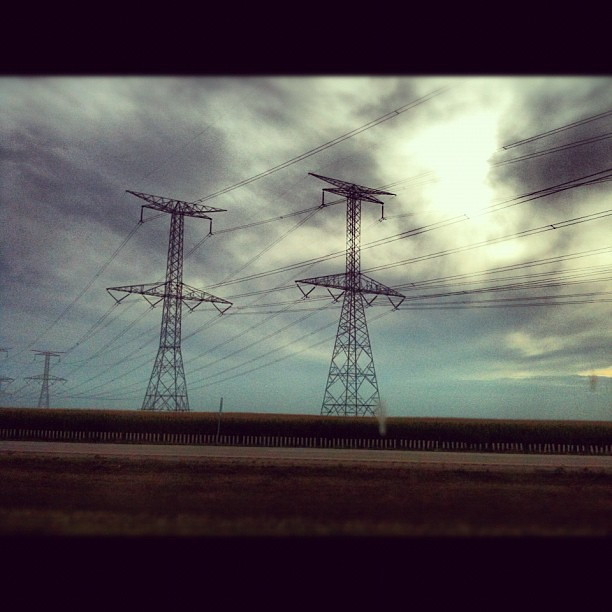 More power lines: