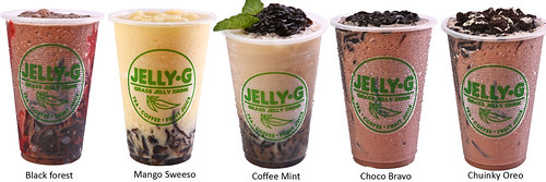 JELLY-G THAI MILK TEA coffee, chocolate and fruit drinks_