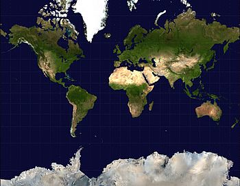 350px-Mercator-projection