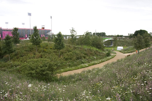 The green Olympic Park