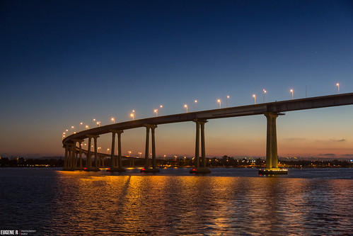 San Diego Coronado Bay Bridge by eramos_ca