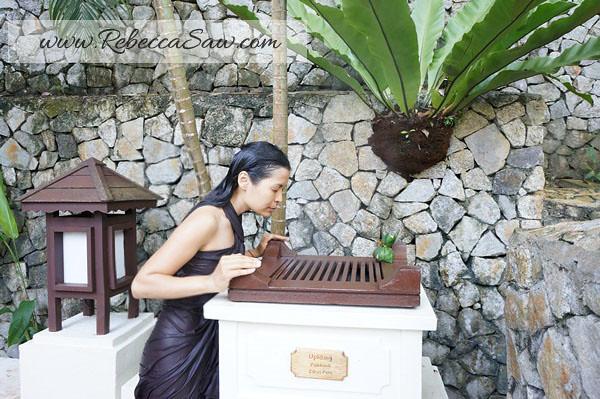 spa village pangkor laut resort - rebecca saw - uplifting
