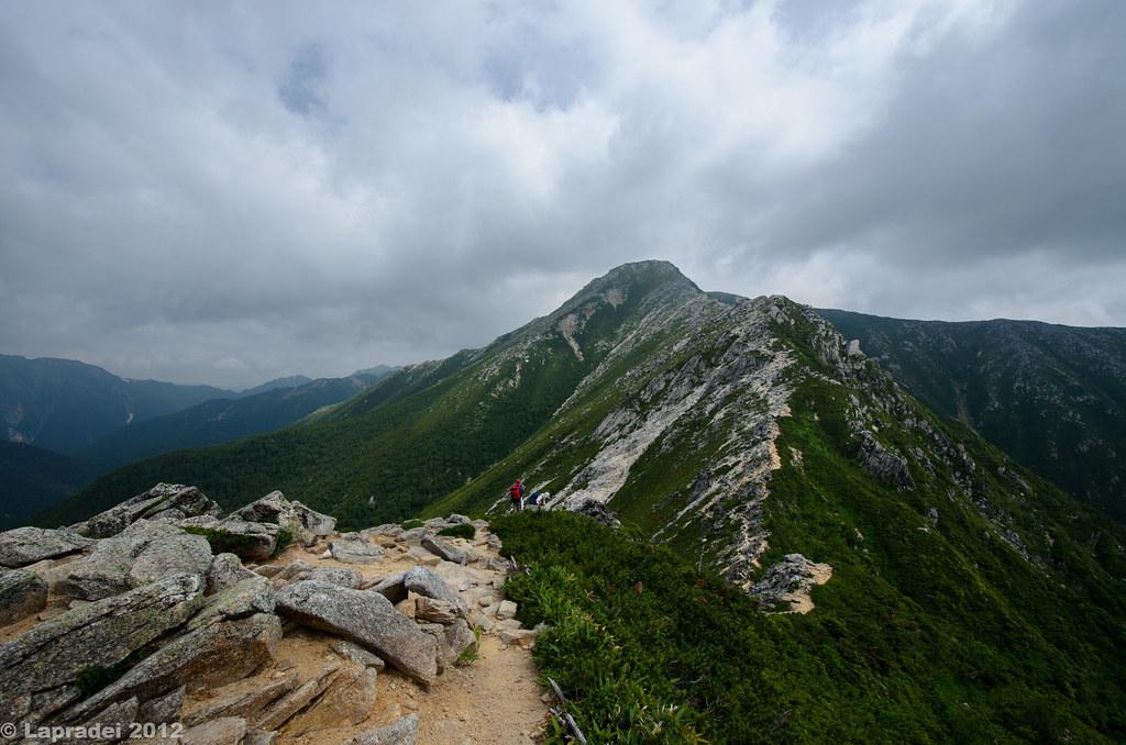 20120729 常念岳を振り返って