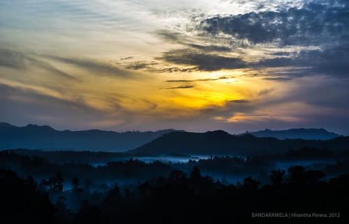 clouds landscape land srilanka