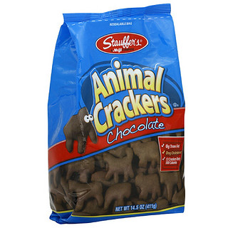 chocolate animal cracker