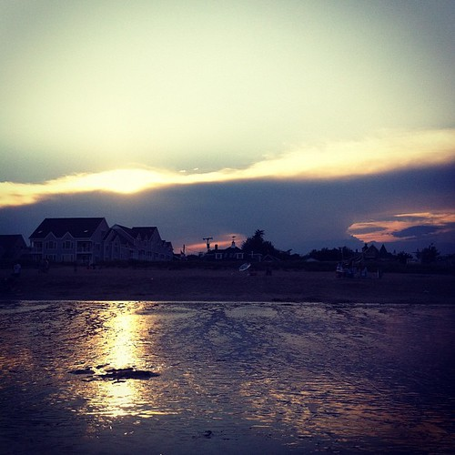 sunset #beach #maine #oob #summer