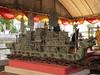Ayutthaya - Wat Phanan Choeng - metal boat model