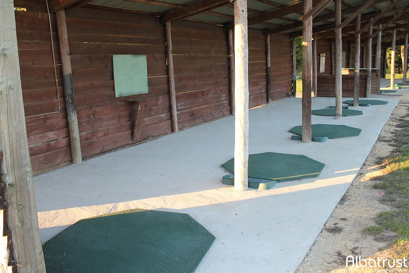 photo du golf Golf de Baugé - Practice - Putting green