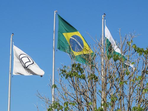 Foz do Iguaçu: qui ne connait pas le drapeau brésilien ? ;)
