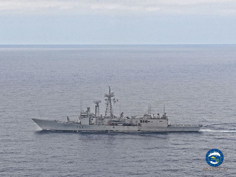 ESP frigate Reina Sofia hands over her duties to the Spanish Navarra – EUNAVFOR MED