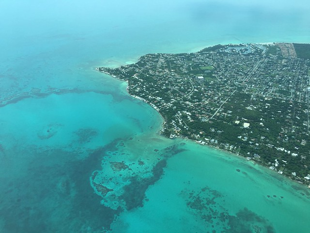 The eastern end of New Providence Island Bahamas