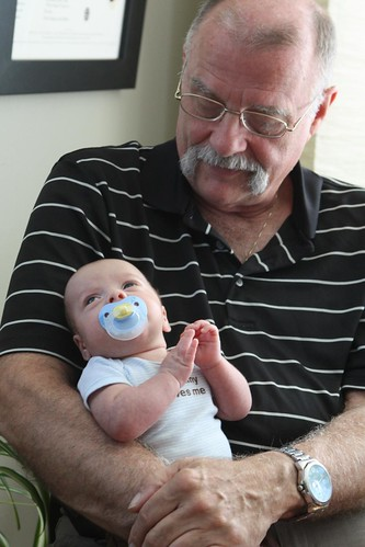 Grandad with Elliott
