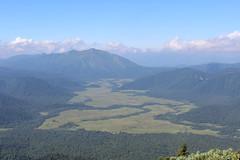 燧ヶ岳山頂からの展望