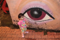 Nerjis Asif Shakir Street Photographer and the Magic Eye by firoze shakir photographerno1