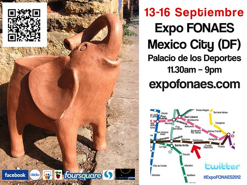 Let's talk about the elephant in the room or the Palacio de los Deportes @ExpoFonaes @AyuukTienda #mexiconow