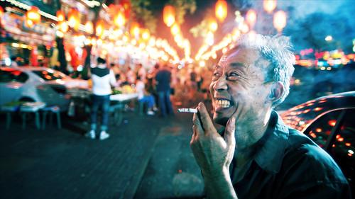 無料写真素材, 人物, 中年・高齢者, 煙草・タバコ, 中国人