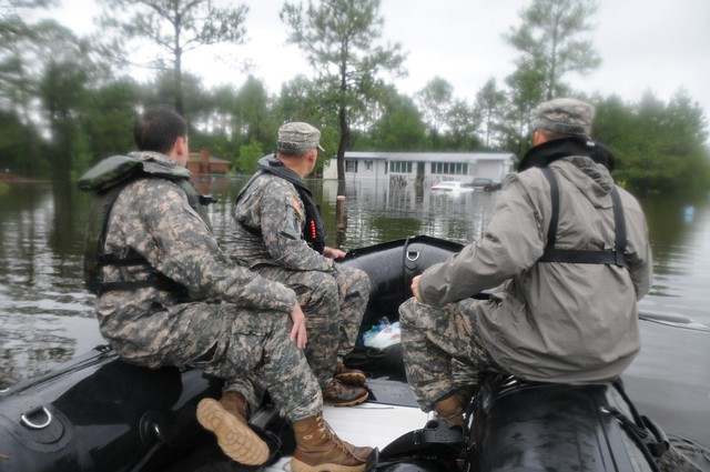 Mississippi National Guard after Hurricane Isaac