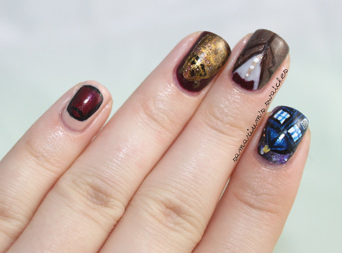 Doctor Who Nail Art (2)