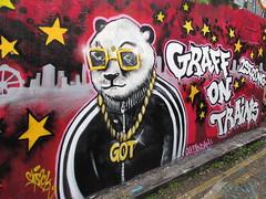 Street art animals