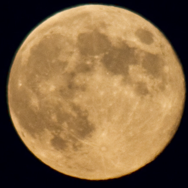 300mm moon original size