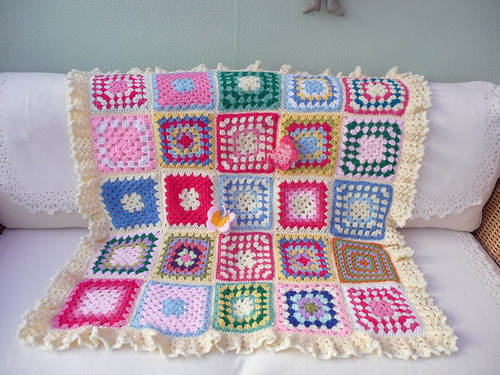 Such pretty Granny squares once again!