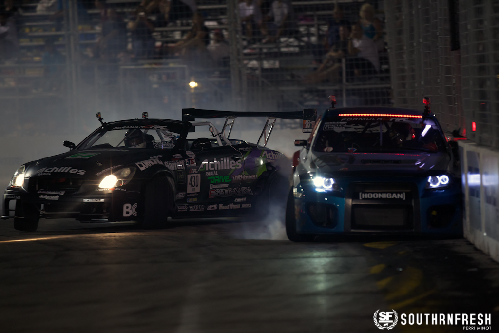 Formula Drift 2012: After Dark Las Vegas