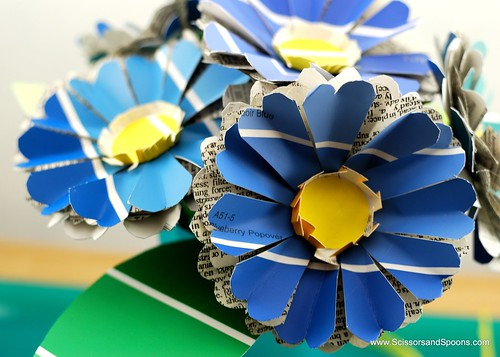 Paper Flowers - Close Up