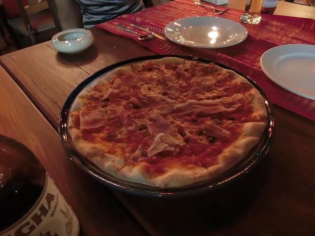 Pizza(Parma Ham)
