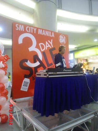 SM City Manila 3 Day Sale KNT 23