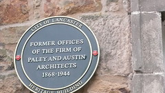 Photo of Paley and Austin blue plaque