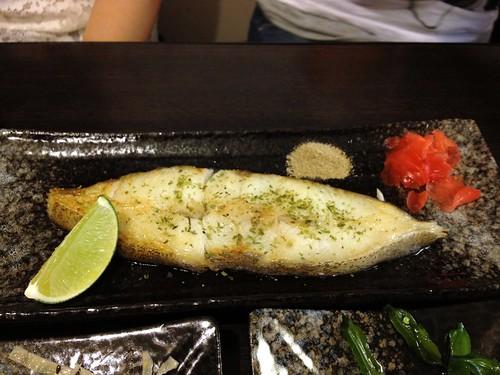 鹽烤冰島鱈魚