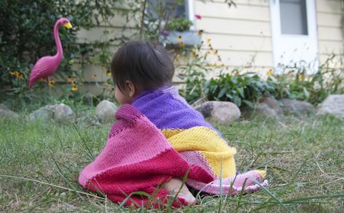 zoe knit blanket