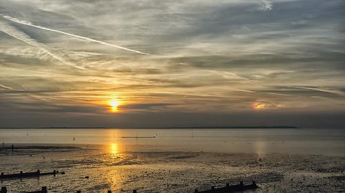 Whitstable Sunset with Sundog