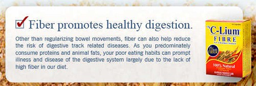 Fiber for healthy digestion