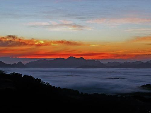 Mar de nubes en Cayón