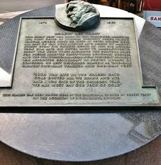 Robert Lee Frost Plaque