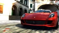 race car(1.0), automobile(1.0), automotive exterior(1.0), ferrari 599 gtb fiorano(1.0), wheel(1.0), vehicle(1.0), automotive design(1.0), bumper(1.0), ferrari s.p.a.(1.0), land vehicle(1.0), luxury vehicle(1.0), supercar(1.0), sports car(1.0),
