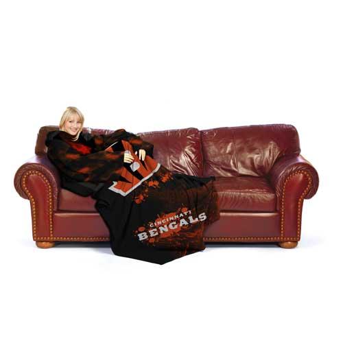 Cincinnati Bengals Huddler Blanket