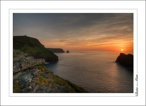 Sunset at Boscastle