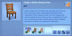 Twigs-n-Sticks Dining Chair
