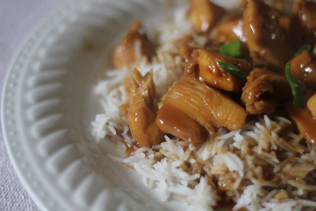 Bourbon Chicken Chinese Food Delivery Calories