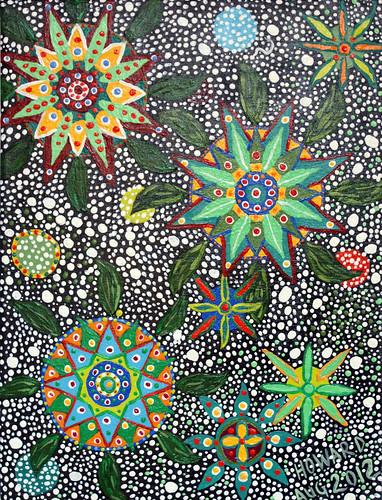 Ayahuasca Inspired Art - August 2012