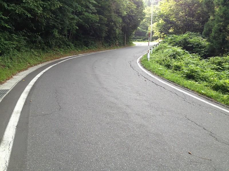 魹ヶ崎へ向かう道