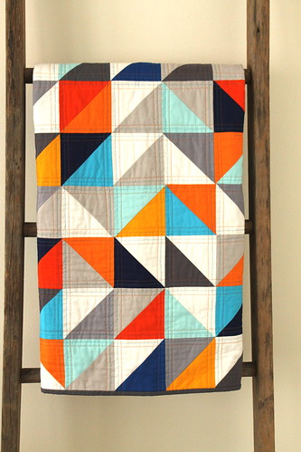 pantone parade :: a custom quilt.