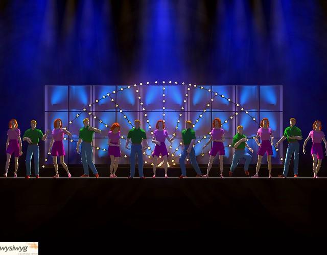 A Chorus Line Rendering