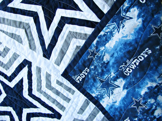 Dallas Cowboys Quilt E