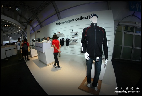 There's also a corner for the fans to grab Volkswagen Collections!