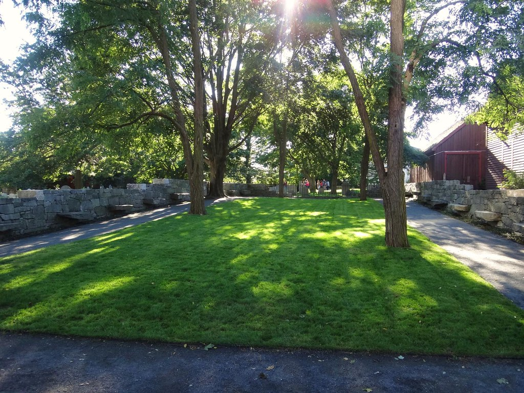 Salem Witch Trials Memorial grounds