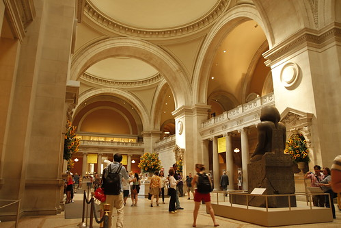 Entry at the Met